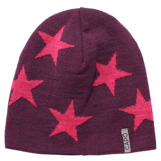Women's Two Stars Reversible Beanie