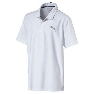 Polo de golf Pounce Aston pour garçons juniors [8-16]