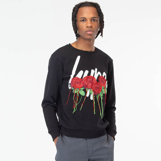 Men's Rose Script Sweatshirt