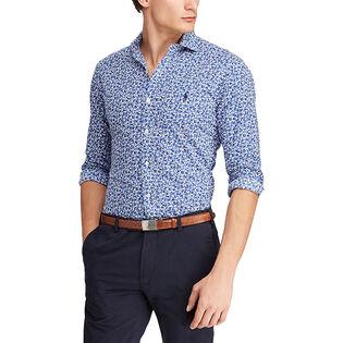 Men's Slim Fit Floral Print Shirt