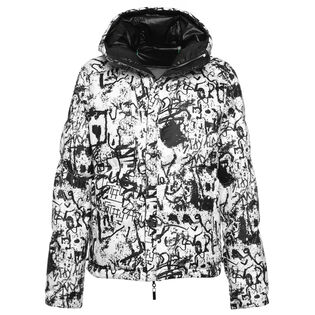 Women's Reversible Stravers Graffiti Print Jacket