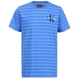 Junior Boys' [8-16] Stripe Logo T-Shirt