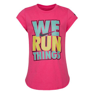 Girls' [2-4T] We Run Things T-Shirt