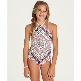 Junior Girls' [6-14] Moon Tribe One-Piece Swimsuit
