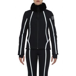 Women's Roma Mink Collar Jacket