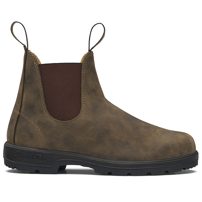 #585 The Leather Lined Boot In Rustic Brown