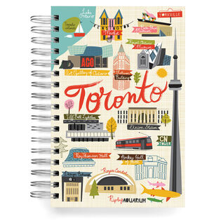 Toronto Jumbo Journal Notebook