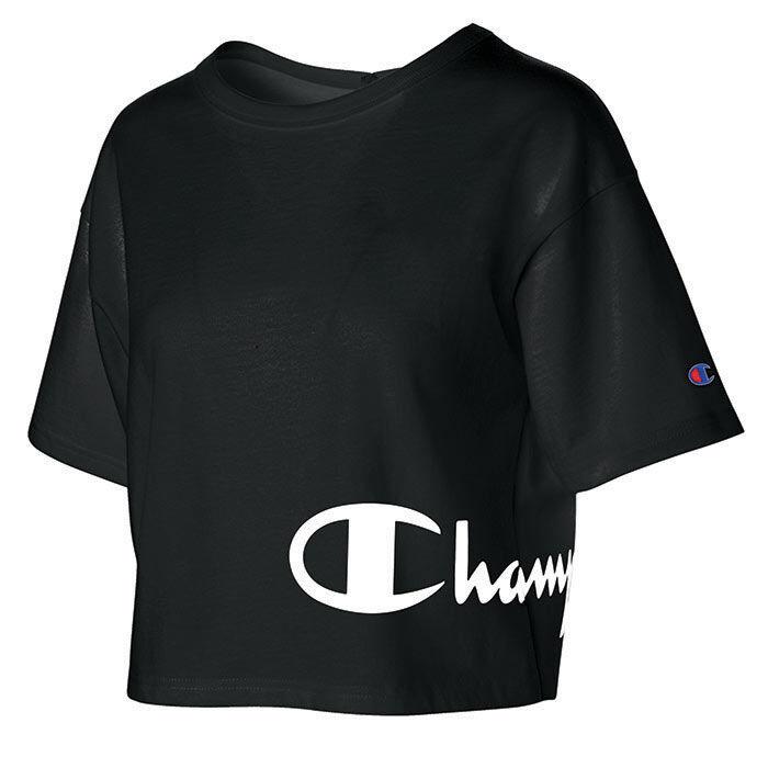 Women's Script Crop T-Shirt