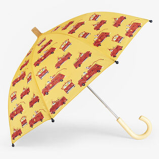 Kids' [2-10] Vintage Fire Trucks Umbrella