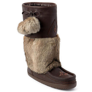 Women's Waterproof Snowy Owl Grain Mukluk
