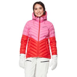 Women's Frost Down Hood Blocked Jacket