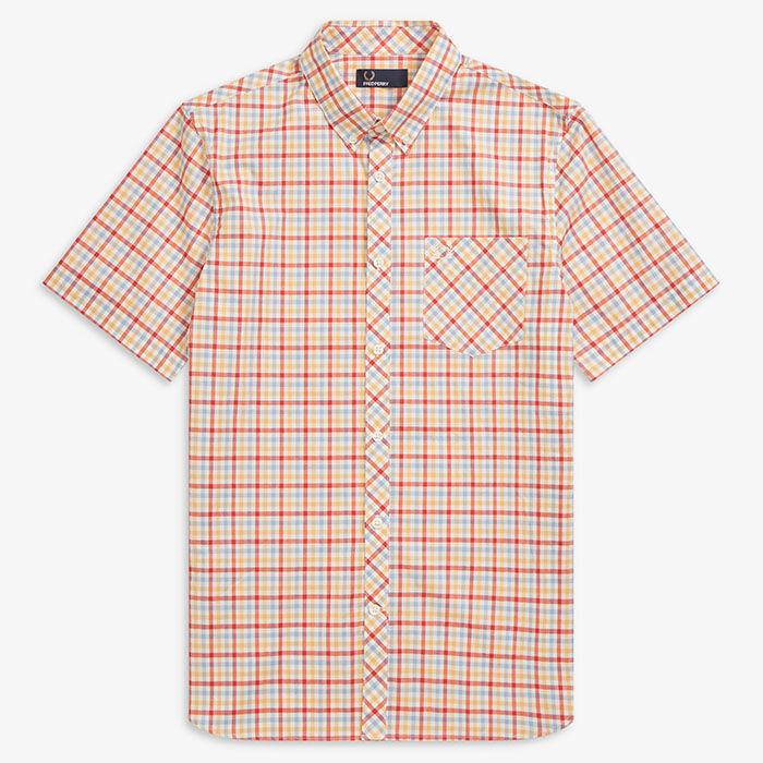 Men's Four Colour Gingham Shirt