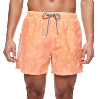 Men's Peach Water Reactive Swim Trunk