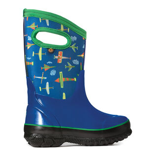 Kids' [7-1] Classic Planes Insulated Boot