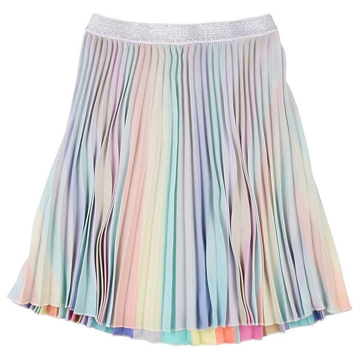 Jupe plissée multicolore pour filles [4-5]