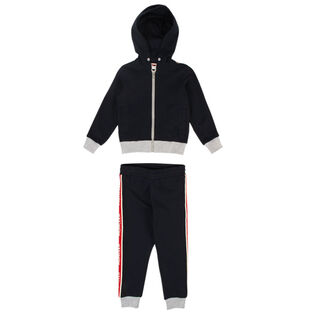Boys' [4-6] Logo Tape Two-Piece Track Suit