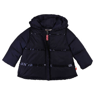 Baby Girls' [12-24M] Sequin Ruffle Jacket