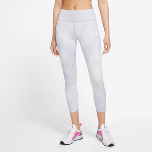Women's One Icon Clash Cropped Tight
