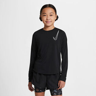 Junior Girls' [7-16] Dri-FIT® One Long Sleeve Top