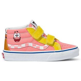 Chaussures SpongeBob Sk8-Mid Reissue V pour enfants [11-3]