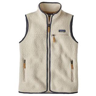 Women's Retro Pile Fleece Vest