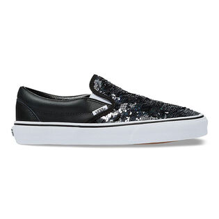 Women's Flipping Sequins Classic Slip-On Shoe
