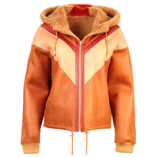 Women's Reversible Hooded Jacket
