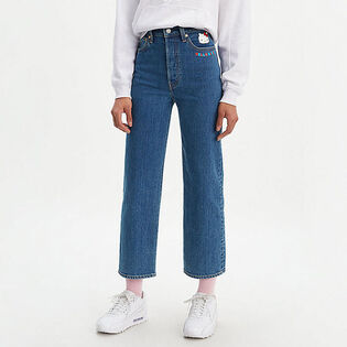 Women's Hello Kitty Ribcage Straight Ankle Jean