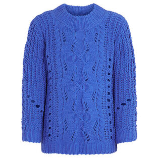 Junior Girls' [8-16] Open Knit Sweater