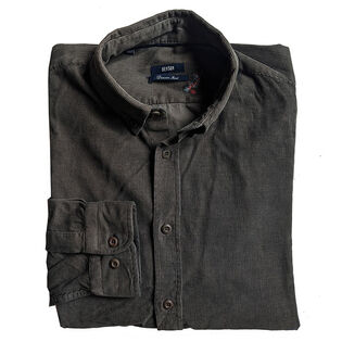 Men's Corduroy Long Sleeve Shirt