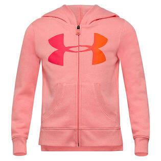 Girls' [4-6X] Gradient Logo Rival Fleece Hoodie