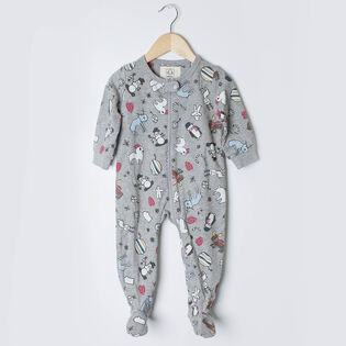 Babies' [6-24M] Arborist Holiday Sick Kids One-Piece Pajama