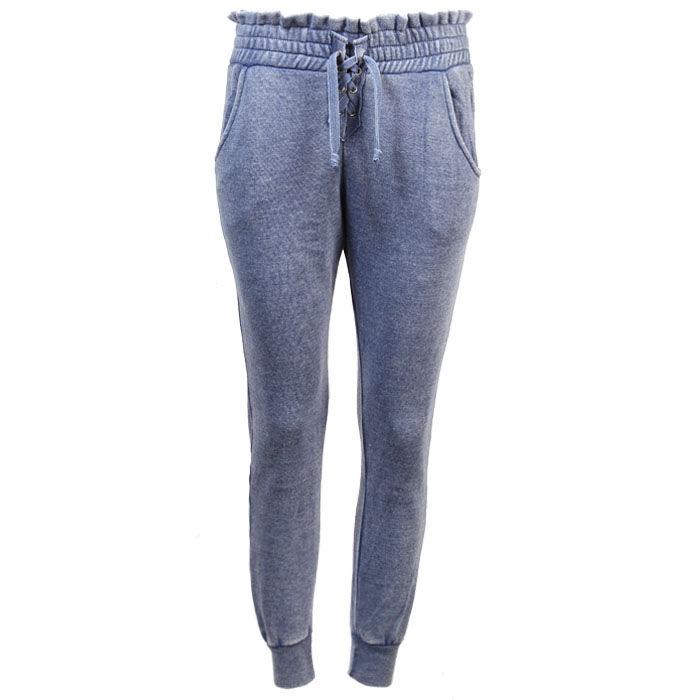 Pantalon de jogging à lacet pour femmes