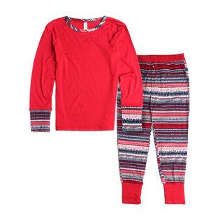 Women's Holiday Fair Isle Pajama Set