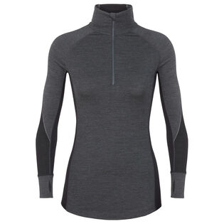 Women's Zone Long Sleeeve Half-Zip Top