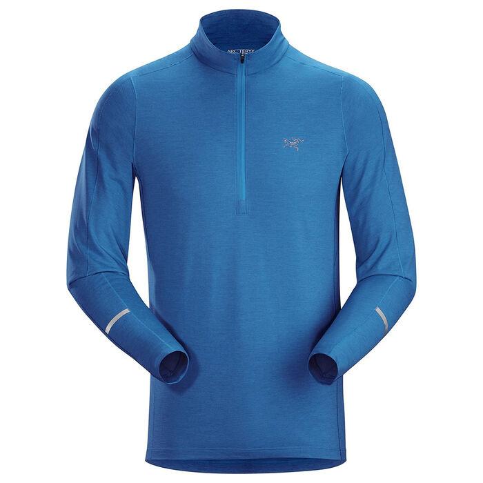 Men's Cormac Zip Long-Sleeve Top