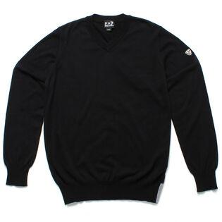 Men's Stand Alone V-Neck Sweater