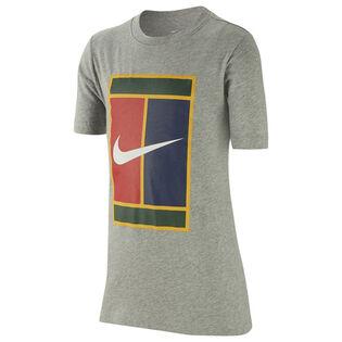 T-shirt de tennis Court pour garçons juniors [8-16]