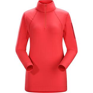 Women's Rho LT Zip-Neck Top