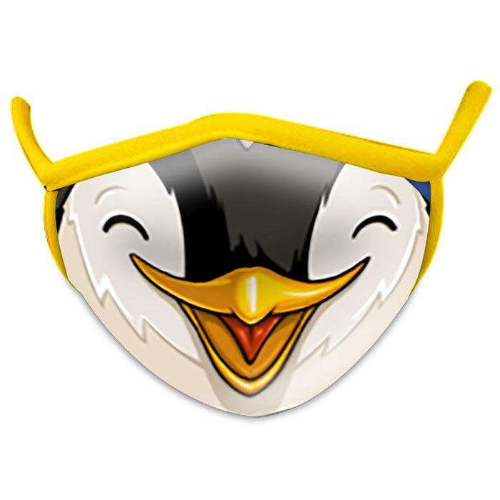 Kids' Wild Smiles Penguin Face Mask