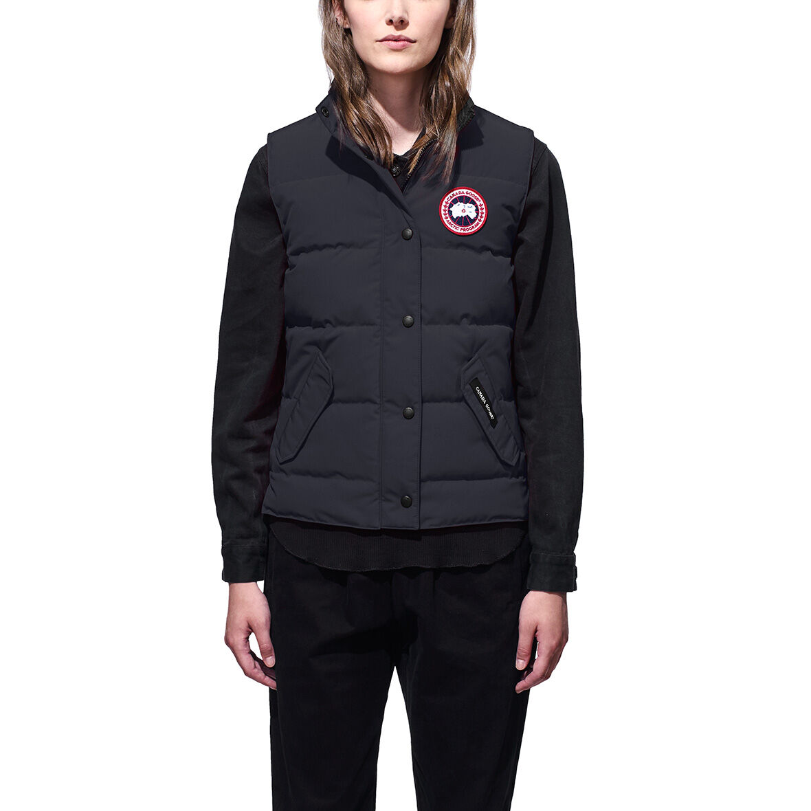 women s freestyle vest canada goose sporting life online rh sportinglife ca