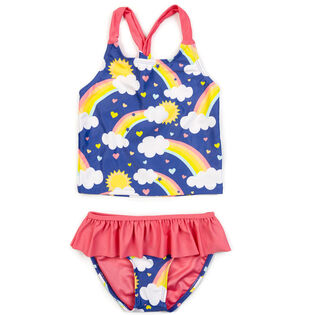 Girls' [2-7] Santorini Two-Piece Tankini