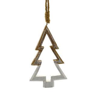 Wood Tree Ornament
