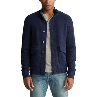 Men's Wool-Cashmere Skeet Cardigan