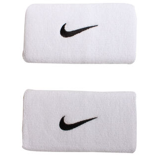 Unisex Double-Wide Swoosh Wristband