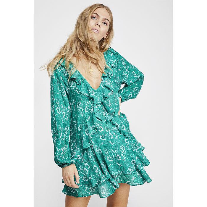 Women's Rebecca Ruffle Dress