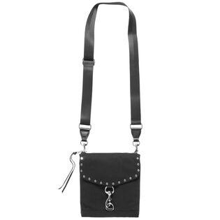 Women's Nylon Flap Crossbody Bag