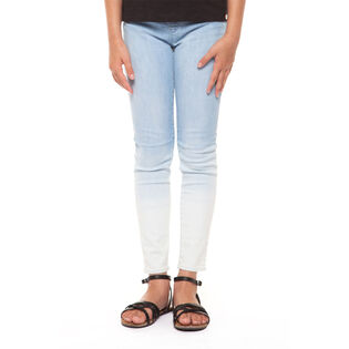 Junior Girls' [7-14] Bleached Out Legging