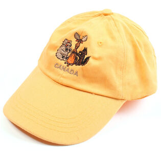 Kids' Wild Friends Canada Cap