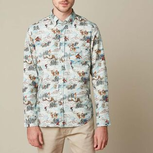Men's Val D'Isere Print Shirt